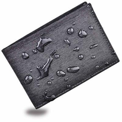 Best Slim: Kinzd Men's Waterproof Bifold Wallet