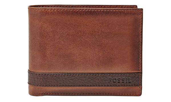 Fossil Men's Quinn Leather Passcase Wallet