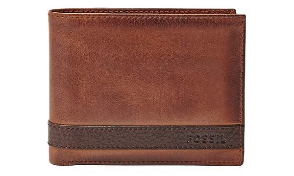 Fossil Men's Quinn Leather Passcase Wallet