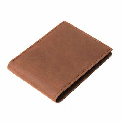 Best Classic: Polare Mens RFID Blocking Vintage Italian Leather Slim Bifold Wallet without ID Window