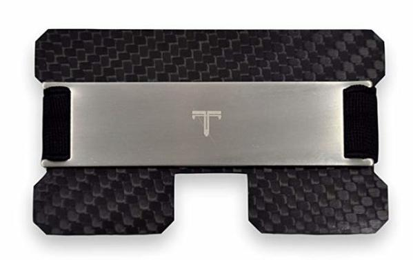 Best Card Wallet: Tribe Carbon Fiber RFID-Blocking Minimalist-Card Wallet