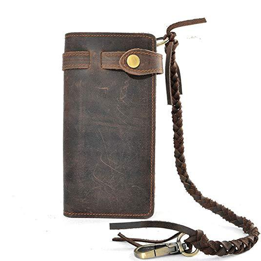 Best Retro: RS Mens Wallet with Chain