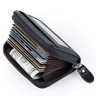 Best with ID Viewer: MaxGear Leather Credit Card Wallet