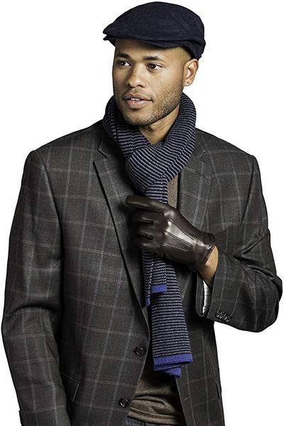 Best Pick:Fratelli Orsini Everyday Men's Italian Lambskin Cashmere Lined Winter Leather Gloves