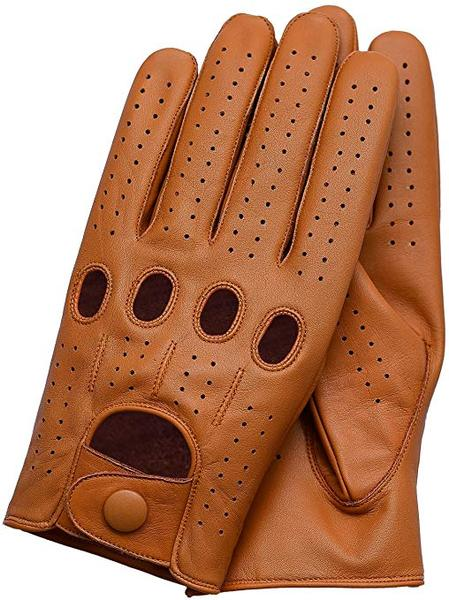 Best Driving Glove: Riparo Motorsports Genuine Leather Full-finger Driving Gloves