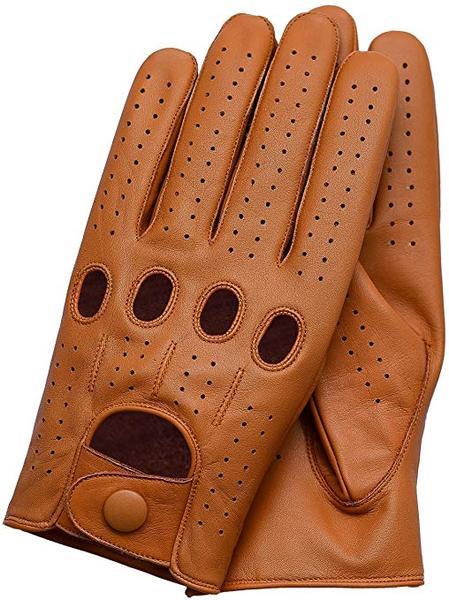 Best Driving Glove:Riparo Motorsports Genuine Leather Full-finger Driving Gloves