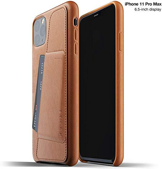 Best with Card Holder: Mujjo Full Leather Wallet Case for Apple iPhone 11 Pro Max