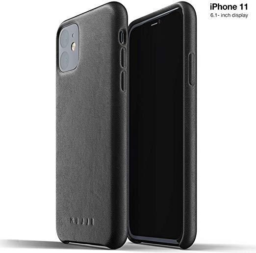 Best Slim: Mujjo Full Leather Case for Apple iPhone 11