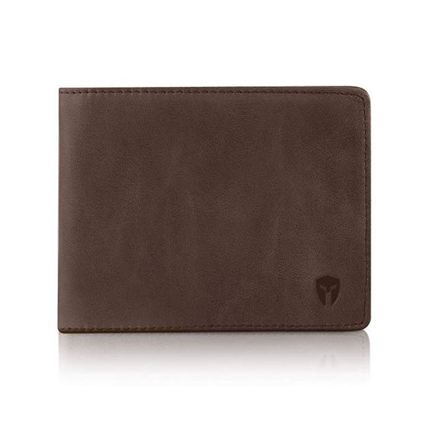 Best Travel Bifold: Bryker Hyde 2 ID Window RFID Leather Wallet for Men