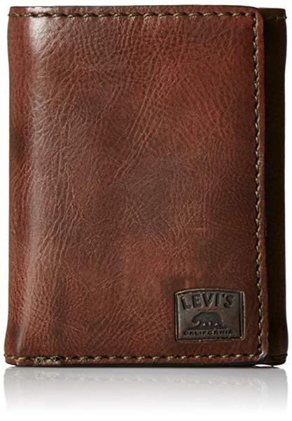 Best Pick: Levi's Men's Trifold Leather Wallet