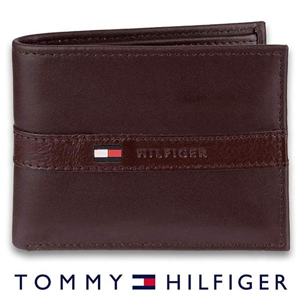 Best Thin Bifold: Tommy Hilfiger Men's Leather Bifold Wallet