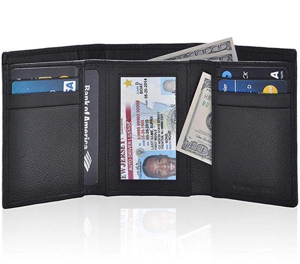 Best for Travel: ESTALON Leather wallets for men