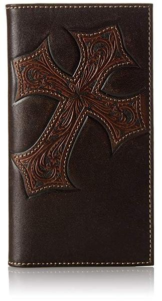 Best Retro: Nocona Men's Diagnol Cross Embose Rodeo