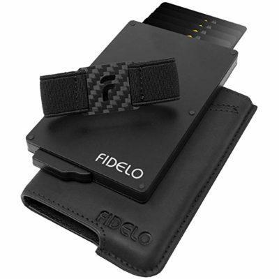 Best Card Holder: FIDELO Slim Wallet for Men
