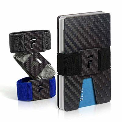 Best Carbon Fiber: FIDELO Carbon Fiber Slim Wallet