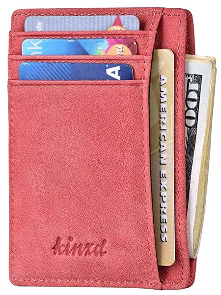 Best Overall: Kinzd Slim Wallet for Women