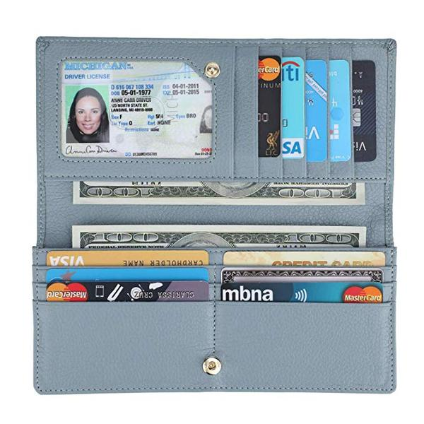 Best Ultra Slim: Lavemi Slim Wallets for Women