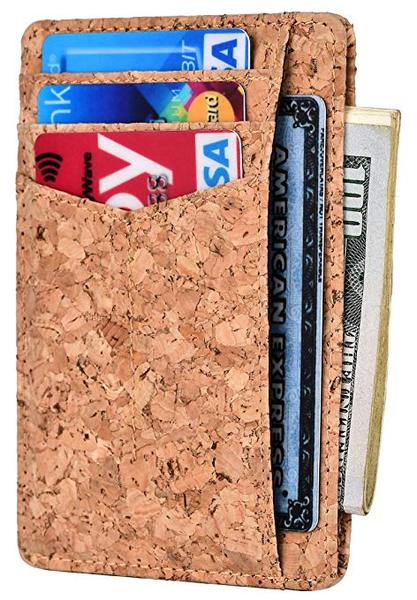 Best Slim: Kinzd Slim Vegan Wallet
