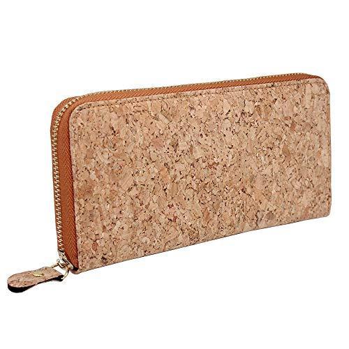 Best Zip: Boshiho Vegan Cork Wallets Purse Handbags for Women