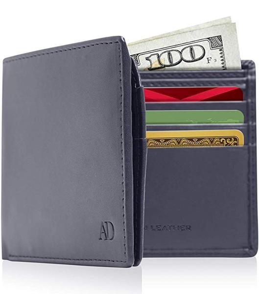 Best Classic: Access Denied Vegan Leather Bifold Wallets For Men