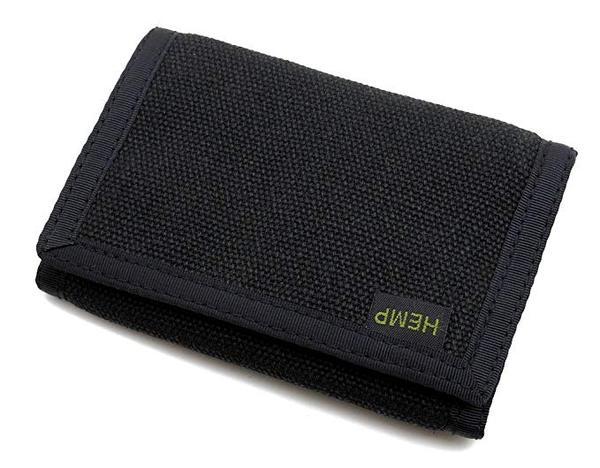 Best Durable: Hempmania Hemp Eight Compartment Tri-fold Wallet