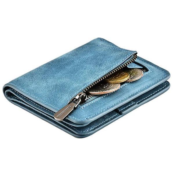 Best Budget: kinzd Bifold Wallet for Women