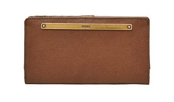 Best Overall: Fossil Women's Bifold Wallet