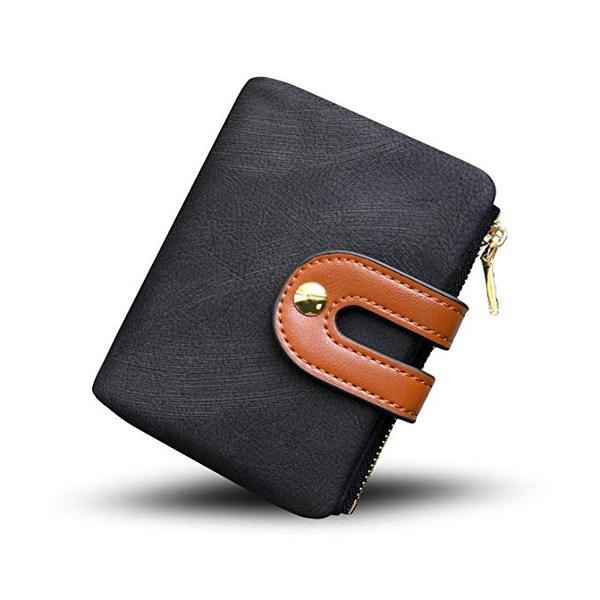 Best Mini: YOTOO Women's RFID Leather Small Bifold Wallet