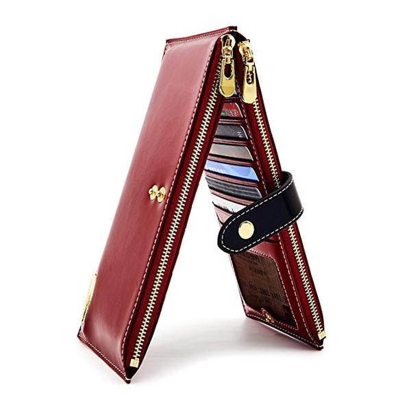 Best Design: ANDOILT Women's Leather Bifold Wallet
