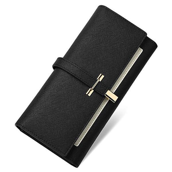 Best Designer: CallagHan Wallet for Women Leather Slim Clutch Long Designer Trifold Ladies Credit Card Holder Organizer
