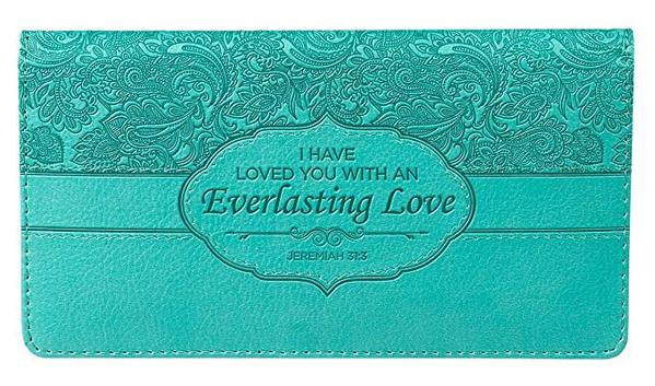 Best Shape: Christian Art Gifts Checkbook Cover for Women & Men Christian Wallet, Faux Leather Christian Checkbook Cover for Duplicate Checks & Credit Cards
