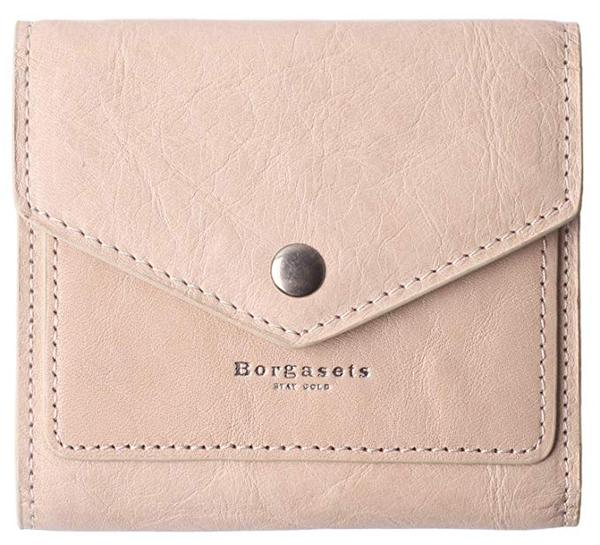 Best Mini: Borgasets Women's Small Leather Credit Card Holder