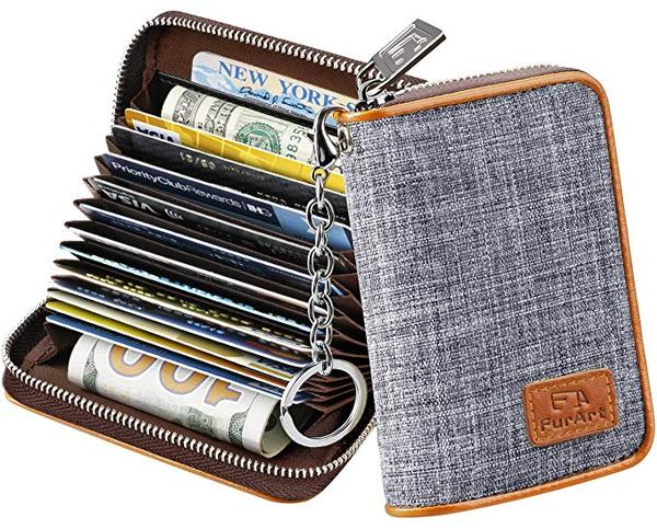 Best Small: FurArt Credit Card Wallet
