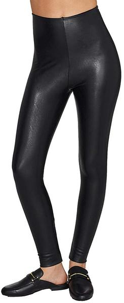 Best Overall: commando Women's Perfect Control Faux Leather Leggings