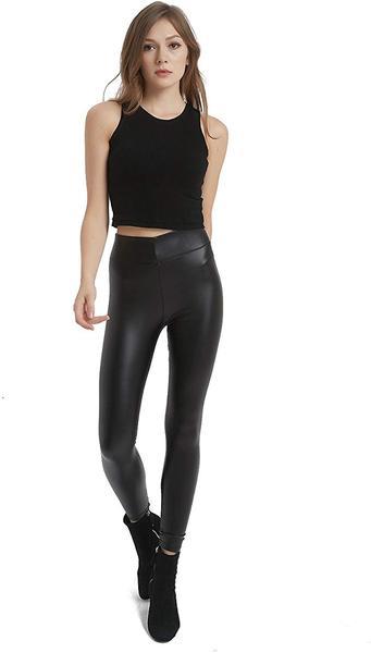 Best for Night Out: MCEDAR Women's Faux Leather Leggings