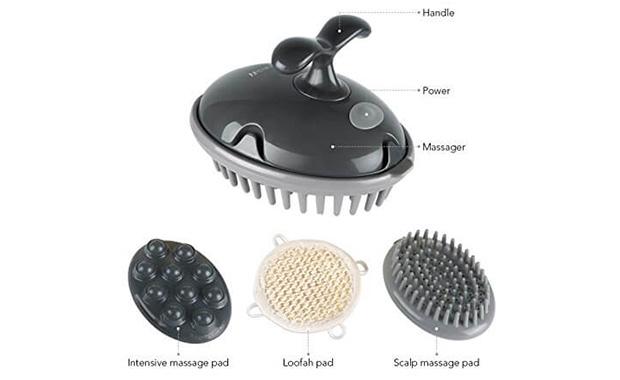 MARNUR Head Scalp Massager Shampoo Brush