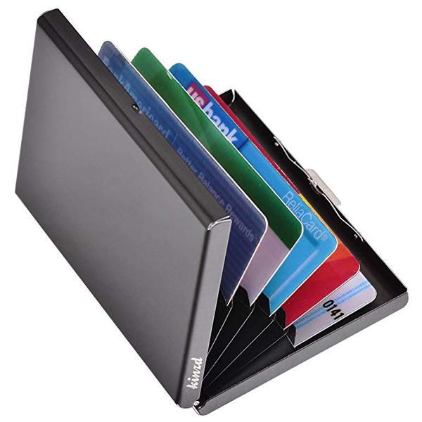 Best Budget: Kinzd Ultra Thin Aluminum Wallet RFID Blocking