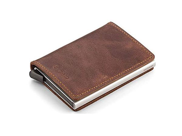 Best For Cards: Secrid Slim Aluminum Wallet