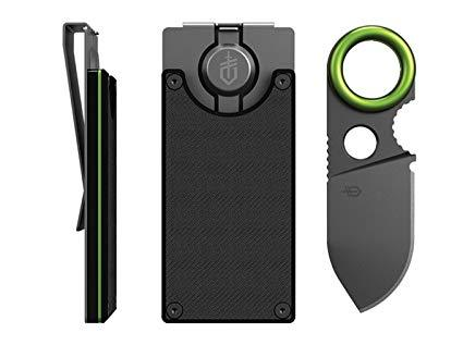 Best EDC:Gerber GDC Money Clip w/ Built-in Fixed Blade Knife [31-002521]