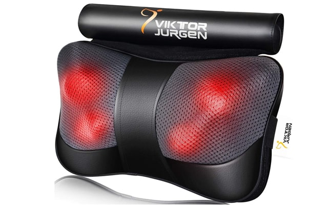 VIKTOR JURGEN Neck and Back Massager Pillow
