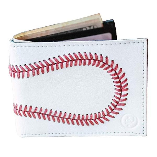 Best Overall: Pro Style Sports Mens Baseball Leather Wallet from Pro Style Sports