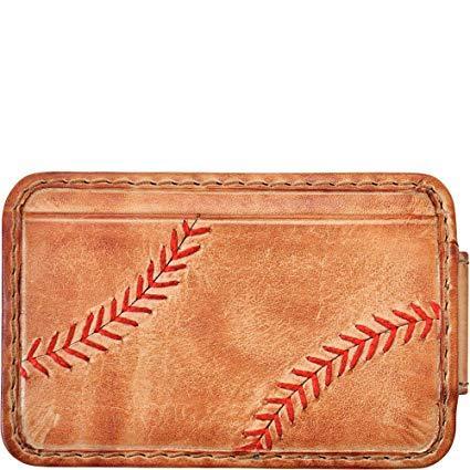 Best Front Pocket: Rawlings Baseball Stitch Front Pocket Wallet