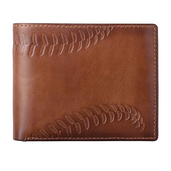 Best Bifold: HOJ Co. BASEBALL Bifold Wallet