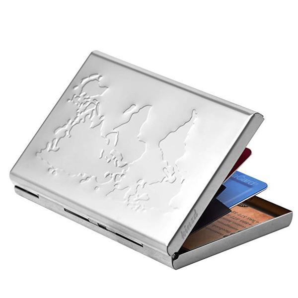 Best Overall: Kinzd Ultra Thin Aluminum Business Card Holder