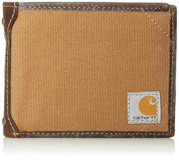 Best Billfold: Carhartt Men's Billfold Canvas Wallet