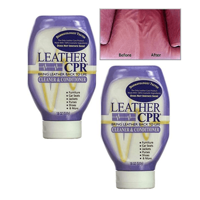 Best Overall: Leather CPR Cleaner & Conditioner