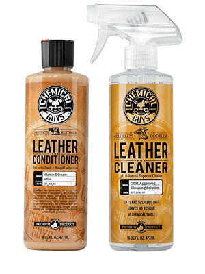 Best Value: Chemical Guys Leather Cleaner and Conditioner