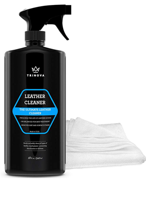 Best Microfiber: TriNova Leather Cleaner for Car Interior