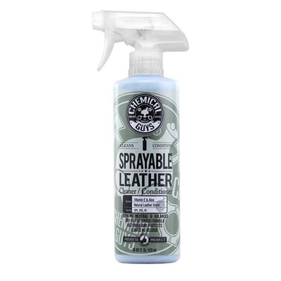 Best Two in One: Chemical Guys SPI_103_16 Sprayable Leather Cleaner and Conditioner in One for Car