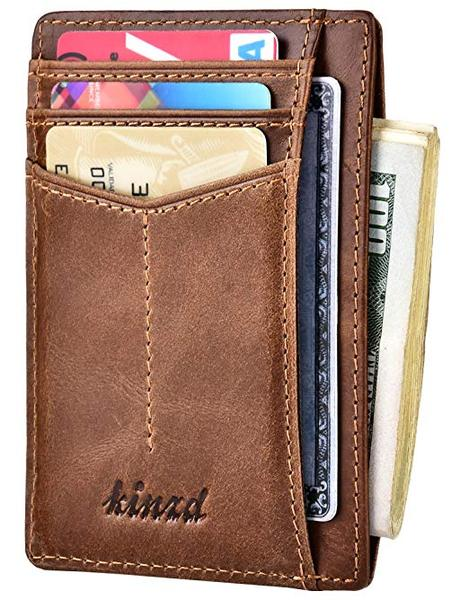 Best Overall: Kinzd Slim Cool Wallet
